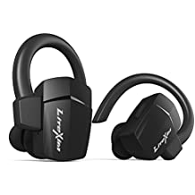 Auricolari Wireless, LiteXim TW-18 Vere Cuffie Wireless Stereo Bluetooth in Ear Sport Earphone Antisudore Cordless Headset per Palestra Corsa Guida Cuffie con Cancellazione Rumore Batteria di Lunga Durata