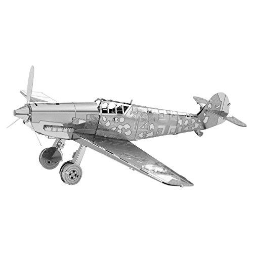 Faszination Metal Earth Messerschmitt BF-109 Flugzeug 3D Metal Model Kit Model Kit Flugzeug