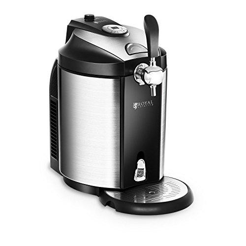 Royal Catering Dispensador de Cerveza Tirador de Cerveza con Refrigeración RCBD-5L para...