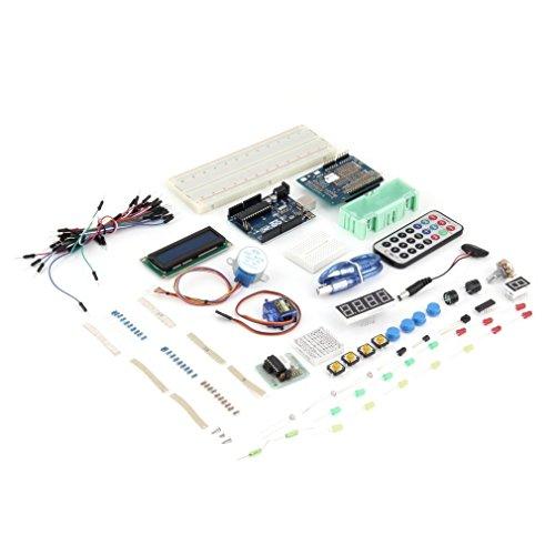 KinshopS Set/Kit para Arduino UNO R3microcontrolador Ultimate Starter Kit Accesorios para Arduino UNO R3principiantes
