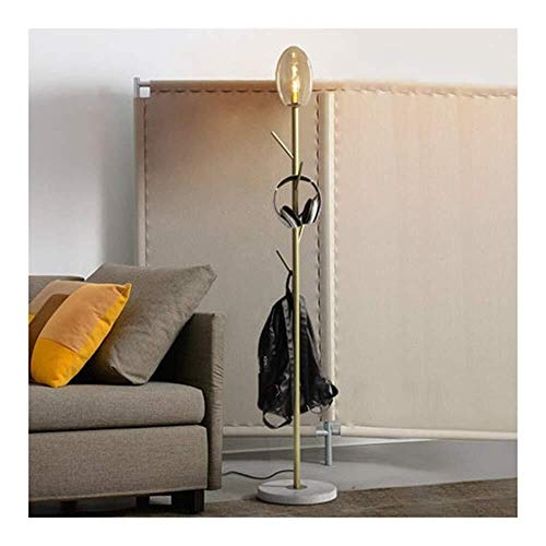 Huo Lámpara Piso Moderno Perchero Ligero Decorativo