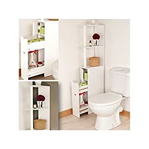 probache meuble wc tag re bois gain de place pour. Black Bedroom Furniture Sets. Home Design Ideas