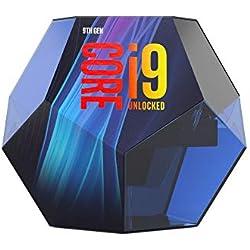Intel Core i9-9900K processeur 3,6 GHz Boîte 16 Mo Smart Cache - Processeurs (Intel Core i9-9xxx, 3,6 GHz, LGA 1151, PC, 14 nm, i9-9900K)