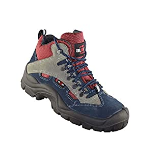 Almar Volley S1P Working Shoes Working Shoes high Blue, Size:42 EU