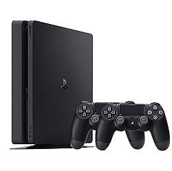Sony Playstation 4 Slim 500GB schwarz inkl. 2 Controllern