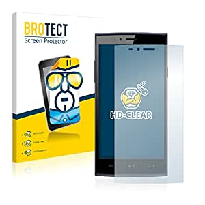 2x BROTECT Film Protection THL T6C Protection Ecran - Transparent, Anti-Trace