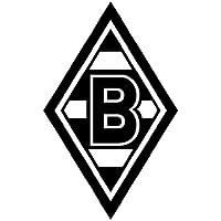mantiburi WandTattoo Borussia Mönchengladbach® Raute Borussia Mönchengladbach 30x46cm / lichtblau 056