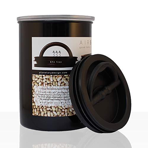 AIRSCAPE - Kaffee-Dose, Aufbewahrungsdose schwarz 1900 ml