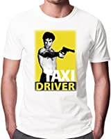 Taxi Driver Movie DVD Poster Men's Fashion Quality Heavyweight T-Shirt.