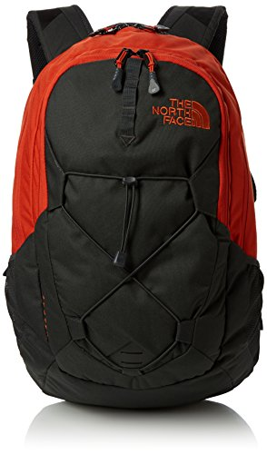 The North Face Jester Mochila, Hombre, Tibetan Orange/Asphalt Grey, Talla Única