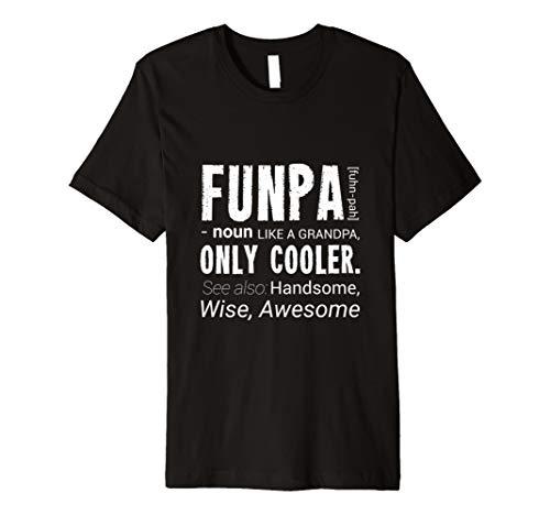 Funpa Definition Shirt Only Cooler For Men Grandpa Birthday
