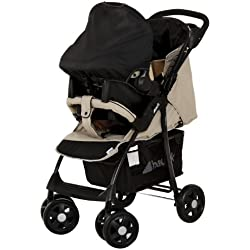Hauck Shopper Shop'n Drive Travel System - carrito para niño Almond/Caviar