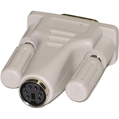 BeMatik - Serieller Anschluss Adapter DB9 Stecker zu PS2 miniDIN 6-pin Weiblich