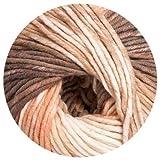 150 gr. Montego Maxi Color Fb. 808 mel., m. Merino, Linie 55, Brandneu, Online, Herbst/Winter 2014/15