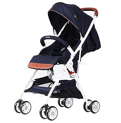 Cochecito para bebés para recién nacidos y niños pequeños Convertible compacto Cochecito de bebé con cochecito para bebés High Landscape y Cochecito reversible para cuna