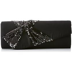 LOLA CASADEMUNT Adele, Bolso baguette para Mujer, Negro (Black), 6x9x20 cm (W x H x L)