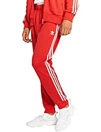 adidas pantaloni uomo rossi