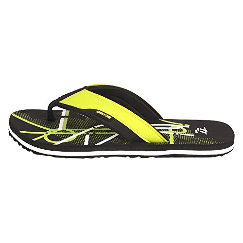 77 Seventy Seven Men Flip Flops Trendy Premium Design Confortable, Light Weight, Boy Walking Slippers (Green)  available at amazon for Rs.269