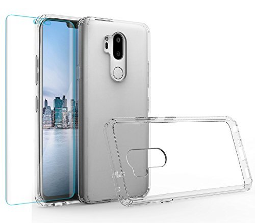 LG G7Fall, LG G7thinq Case, Kristall Transparent Klar Heavy Duty Ultra Slim Dämpfung Kratzfest Anti-Yellow Hard PC Cover für LG G7(kristallklar)