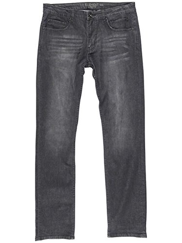 Herren Jeans Hose Element Desoto A Jeans Worn Black