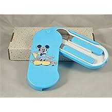 Posate con portaposate Mickey Mouse Topolino Disney