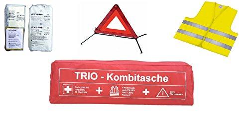 KFZ Trio Kombitasche 3 in 1 Verbandskasten