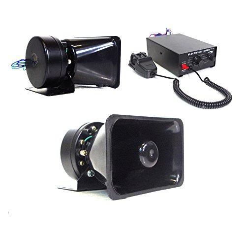 Preisvergleich Produktbild 100W 12V Auto Truck Alarm Police Fire Lautsprecher, PA Sirene Horn Mikrofon System Kit