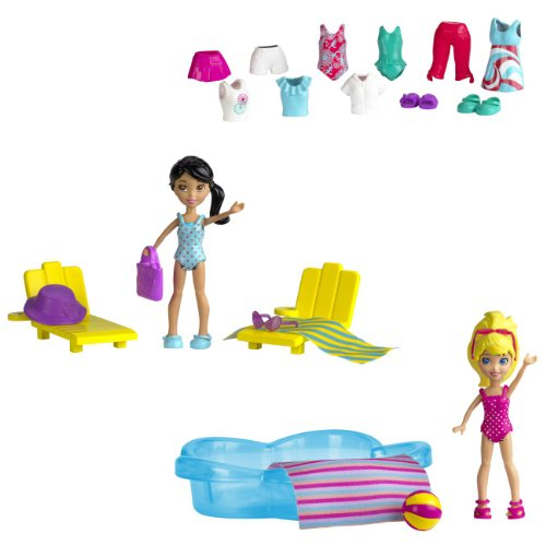 polly-pocket-poolin-around-dolls-2-figures-w6307-20-accessories