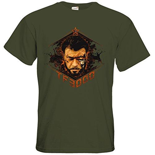 getshirts - Tobinator Official Merchandise - T-Shirt - TF3000 Khaki