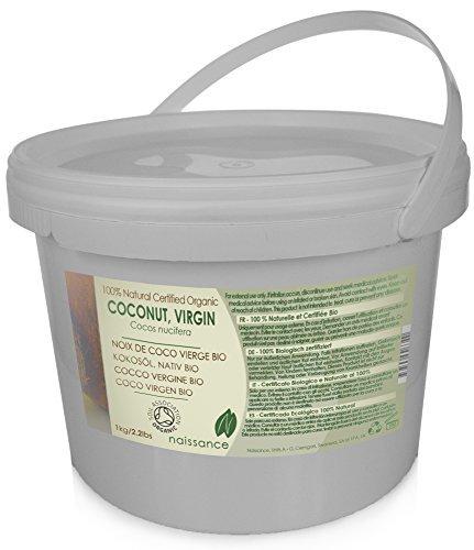 Coco Virgen BIO Sólido - Aceite Portador Prensado en Frío 100% Puro - Certificado Ecológico -
