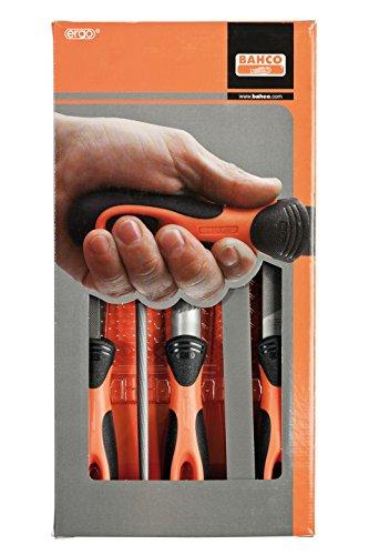 Preisvergleich Produktbild 'Bahco Feile Feilen Set 5MEC 08Basta C/Mng 1–478–08–1-2X5Stück