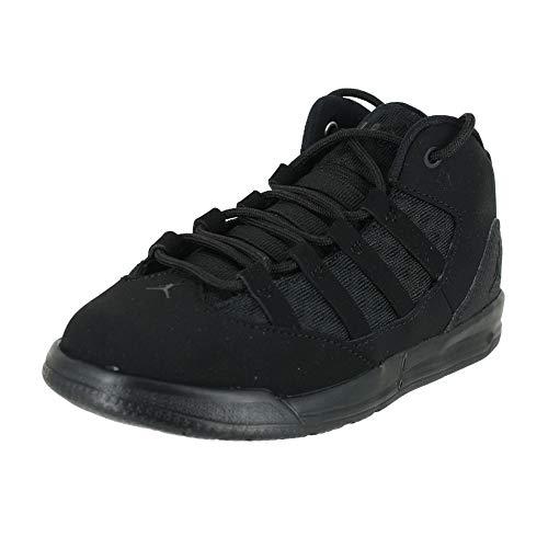 Nike Jordan MAX Aura TD, Zapatillas de Estar por casa Bebé Unisex, Negro Black/Black 001, 22 EU