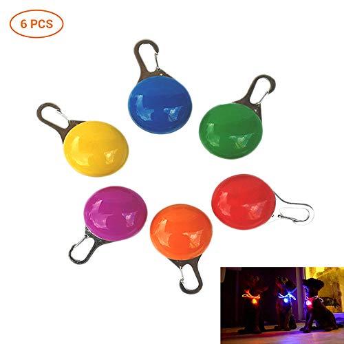 Colgante Perro luz 6 Luces LED Intermitentes Mascotas