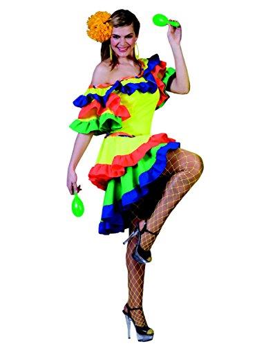 Kostüm einer Rumba-Tänzerin, für die Dame (Kostüm Brasilien Samba)