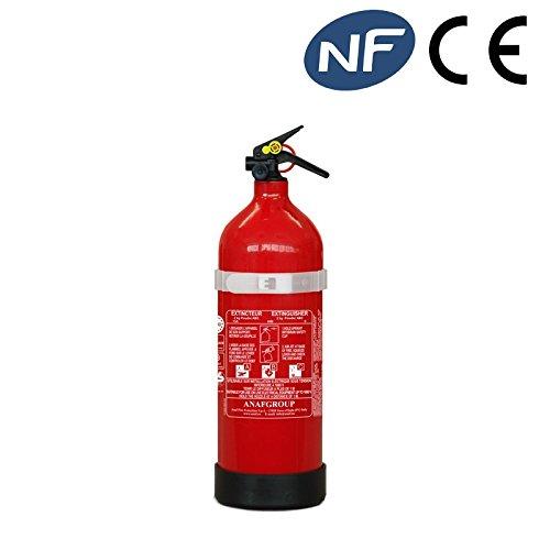 Estintore polvere kg.2 classe di fuoco 13a89bc approvato en3/7 e med solas