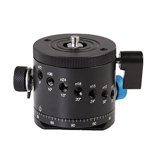 Fotga DH-55D Panorama Indexing Rotator Kamera Kugelkopf für 1/4