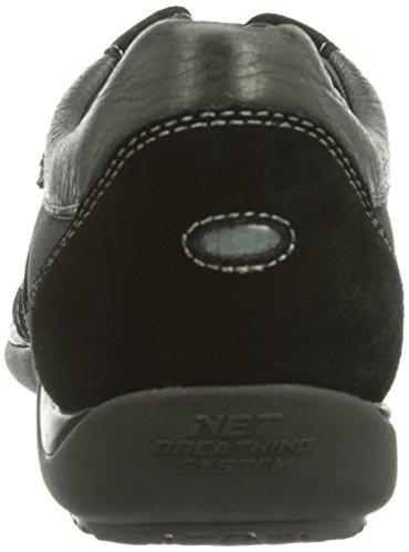 Geox U Xand Travel, Sneaker a Collo Basso Uomo Nero (Blackc9999)