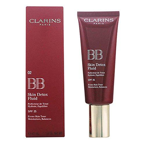 Clarins Bb Skin Detox Fluid Bb Cream SPF 25, 02 Medium - 45 ml