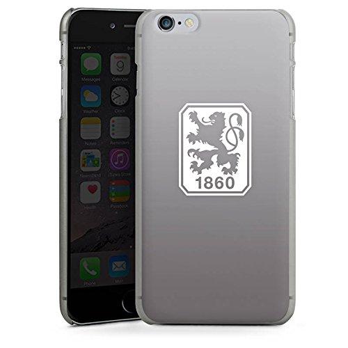 Apple iPhone 6s Silikon Hülle Case Schutzhülle TSV 1860 München Fanartikel Merchandise Zubehör Hard Case anthrazit-klar