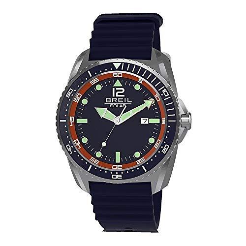BREIL Reloj SUBACQUEO SOLARE Hombre Sólo el Tiempo Caucho - TW1755