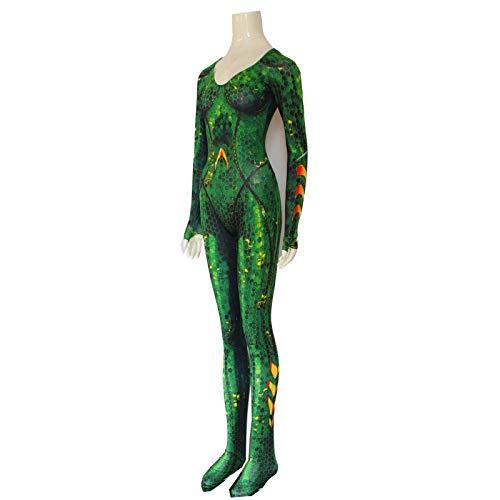 POIUYT Avengers Justice Kostüm Overall Erwachsene Cosplay Outfit Siamese Strumpfhosen Anime Halloween Kleidung (Green Körper Anzug Kostüm)