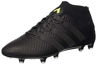 adidas Ace 16.1 Primeknit, Men's Calcio Allenamento, Black (Core Black/core Black/solar Yellow), 7.5 UK
