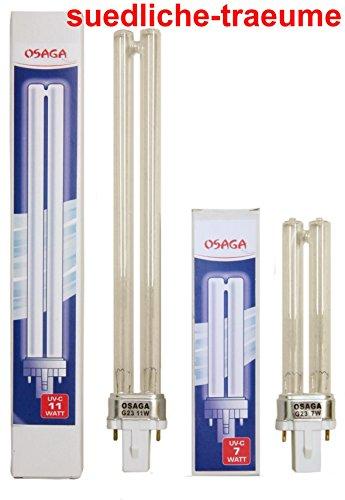 UVC Ersatzlampe 55 Watt PL Sockel 2G11 Agenkiller Klärer