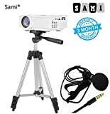 #10: Sami Tripod - 3110 Portable and Foldable Camera with Microphone Mini Hands-free Clip on Lapel Mic