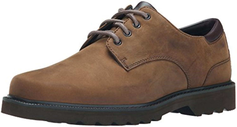 Rockport Northfield Espresso Nubuck, Zapatos de Cordones Derby para Hombre -