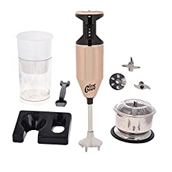 FirstChoice 200 Watts Copper Color Blender with attachment