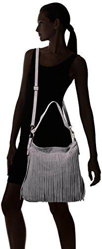 Bags4Less - Tipi, Borsa a tracolla Donna Grigio (Dunkelgrau)