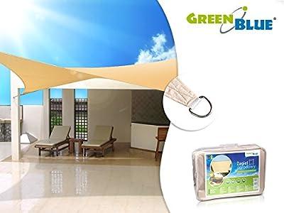 Jardin UV cr?me voile carrée von GreenBlue auf Gartenmöbel von Du und Dein Garten