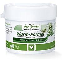 AniForte Wurm-Formel 20 g für Hühner, Gänse, Enten und Großvögel, Natürliche Kräutermischung Statt chemischer Kur, Bei und Nach Wurmbefall