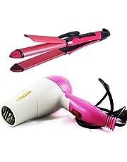 Beldaenova Brings Combos Hair Styling Tools (Hair Dryer and 2 in 1 Hair Straightener Curler)